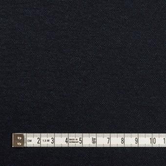 ウール&ナイロン×無地(ダークネイビー)×圧縮ニット サムネイル4