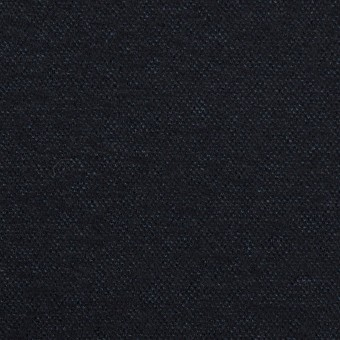 ウール&ナイロン×無地(ダークネイビー)×圧縮ニット サムネイル1