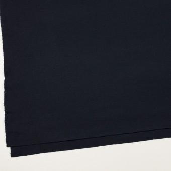 ウール&ナイロン×無地(ダークネイビー)×スムースニット サムネイル2