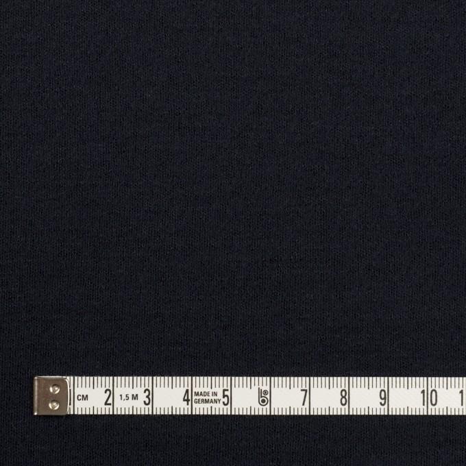 ウール&ナイロン×無地(ダークネイビー)×スムースニット イメージ4