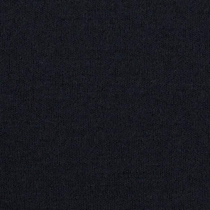 ウール&ナイロン×無地(ダークネイビー)×スムースニット イメージ1