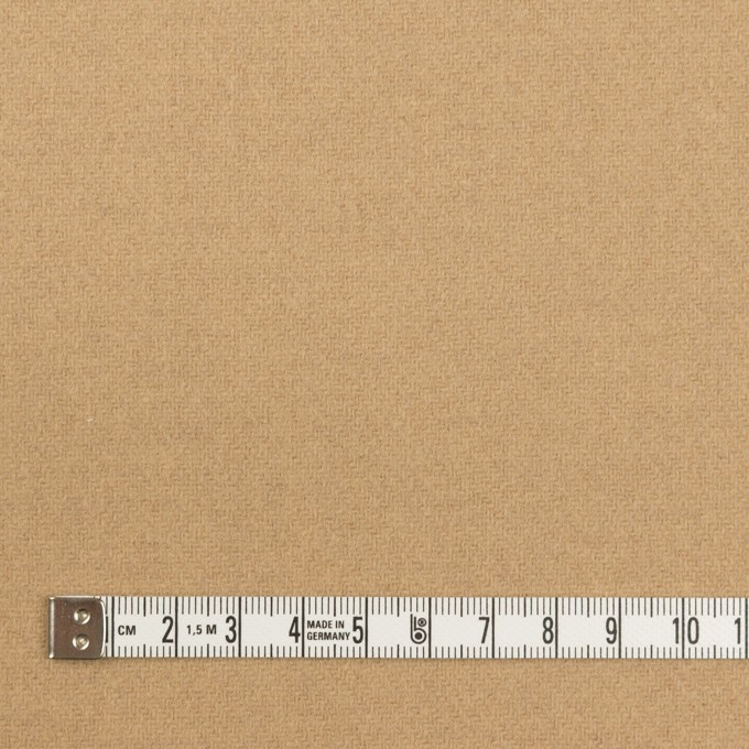 ウール×無地(ベージュ)×ソフトメルトン イメージ4