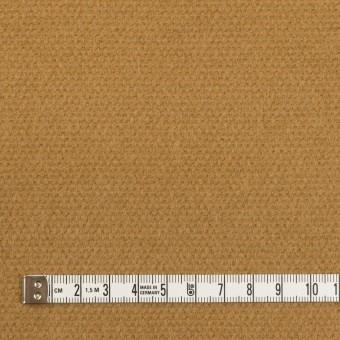 ウール×無地(キャメル)×斜子織 サムネイル4