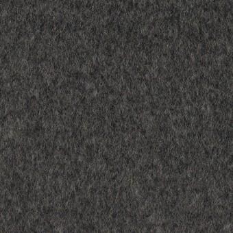 ウール&アンゴラ×無地(チャコールグレー)×ビーバー
