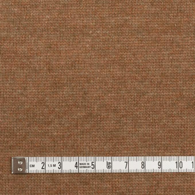 ウール&アクリル×無地(マロン)×天竺ニット_全2色 イメージ4