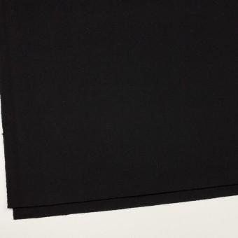 ウール×無地(ブラック)×カルゼ サムネイル2