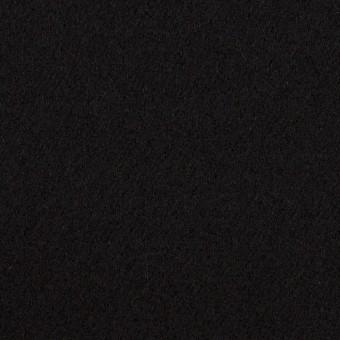 ウール×無地(ブラック)×カルゼ