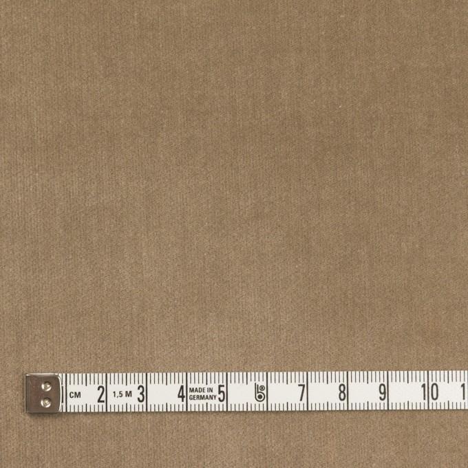 コットン&ポリウレタン×無地(モカ)×ベッチンストレッチ_全2色 イメージ4