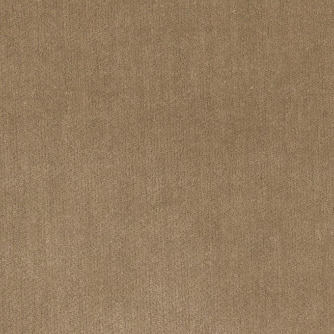 コットン&ポリウレタン×無地(モカ)×ベッチンストレッチ_全2色 イメージ1