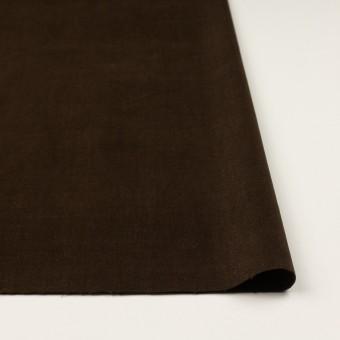 コットン&ポリウレタン×無地(ブラウン)×ベッチンストレッチ_全2色 サムネイル3