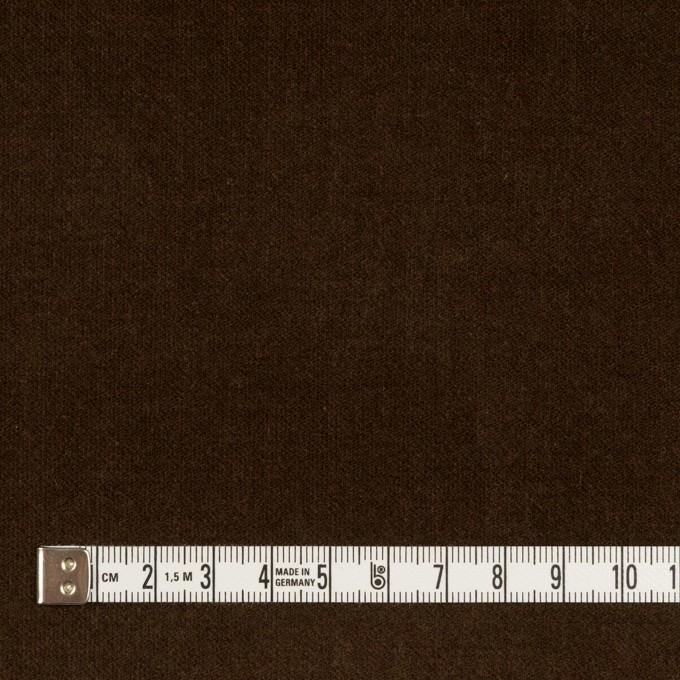 コットン&ポリウレタン×無地(ブラウン)×ベッチンストレッチ_全2色 イメージ4