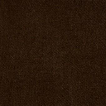 コットン&ポリウレタン×無地(ブラウン)×ベッチンストレッチ_全2色