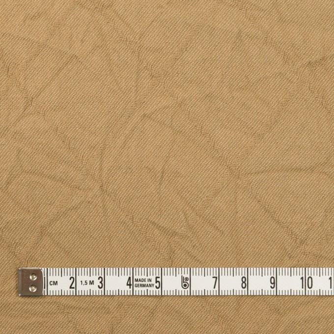 コットン&レーヨン混×無地(カーキベージュ)×サージワッシャー イメージ4