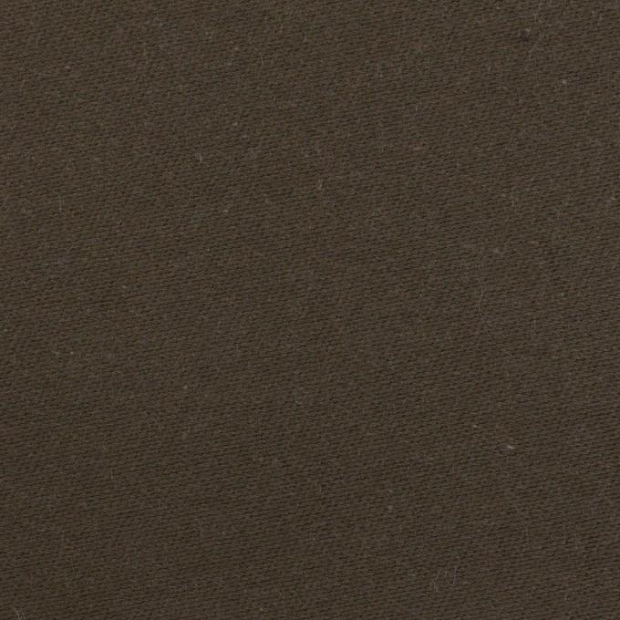コットン×無地(ダークブラウン)×モールスキン_全3色 イメージ1
