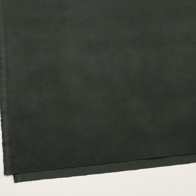 コットン&ポリウレタン×無地(モスグリーン)×ビエラストレッチ イメージ2