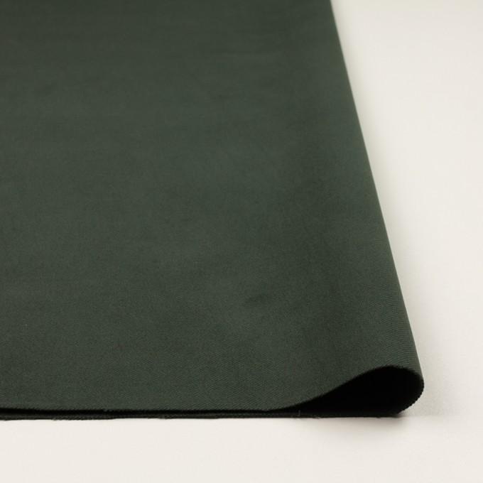 コットン&ポリウレタン×無地(モスグリーン)×ビエラストレッチ イメージ3