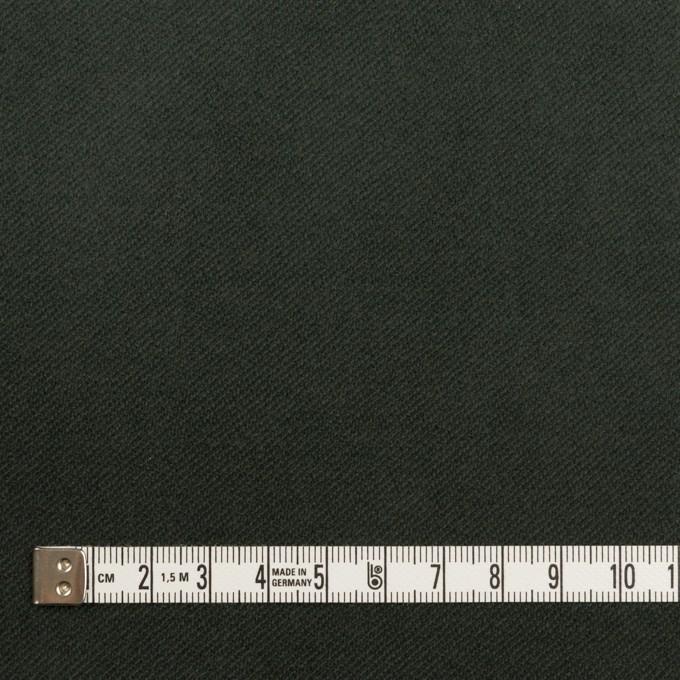 コットン&ポリウレタン×無地(モスグリーン)×ビエラストレッチ イメージ4