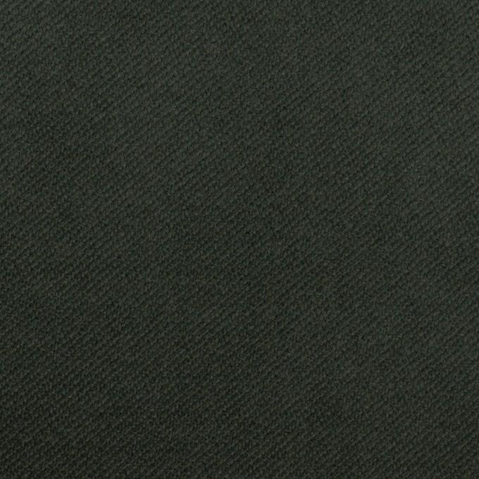 コットン&ポリウレタン×無地(モスグリーン)×ビエラストレッチ イメージ1