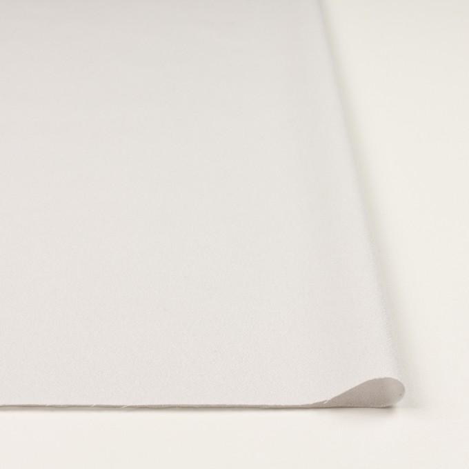 ウール×無地(パールホワイト)×ジョーゼット イメージ3