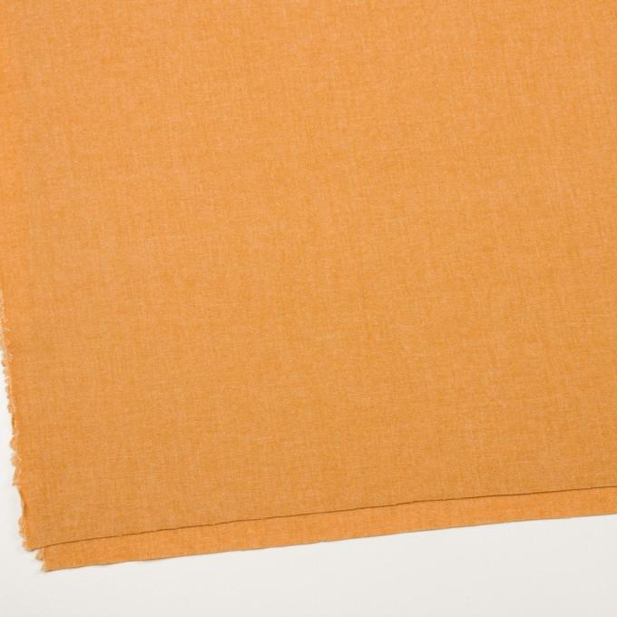 ウール&ポリエステル混×無地(オレンジ)×ツイード イメージ2