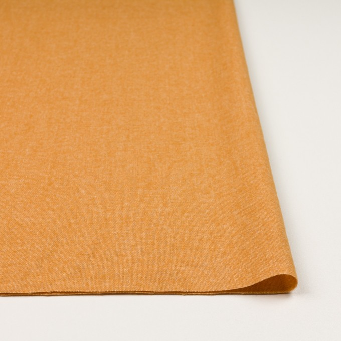 ウール&ポリエステル混×無地(オレンジ)×ツイード イメージ3