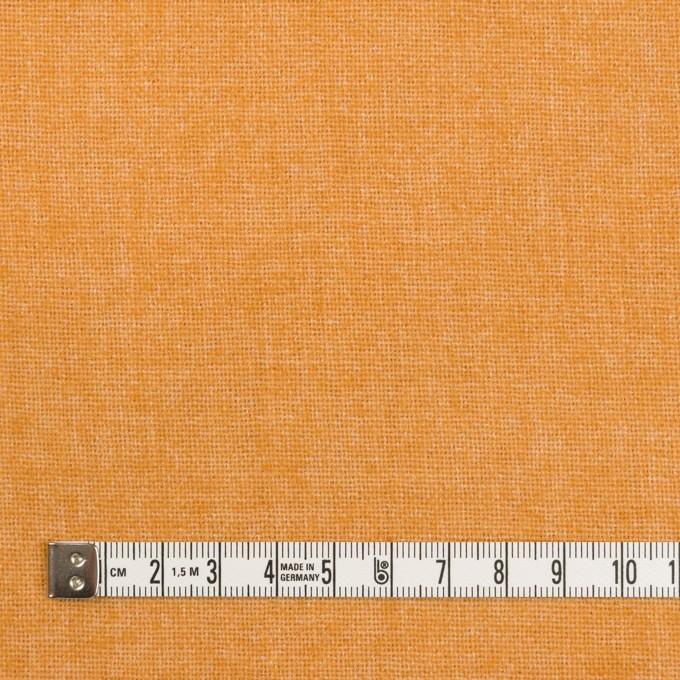 ウール&ポリエステル混×無地(オレンジ)×ツイード イメージ4