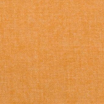 ウール&ポリエステル混×無地(オレンジ)×ツイード