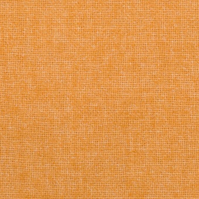 ウール&ポリエステル混×無地(オレンジ)×ツイード イメージ1