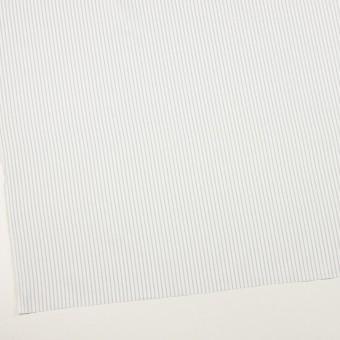 コットン×ストライプ(ブルーグレー)×斜子織 サムネイル2