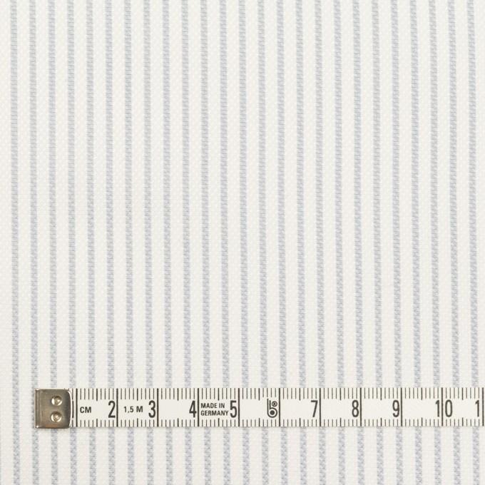 コットン×ストライプ(ブルーグレー)×斜子織 イメージ4