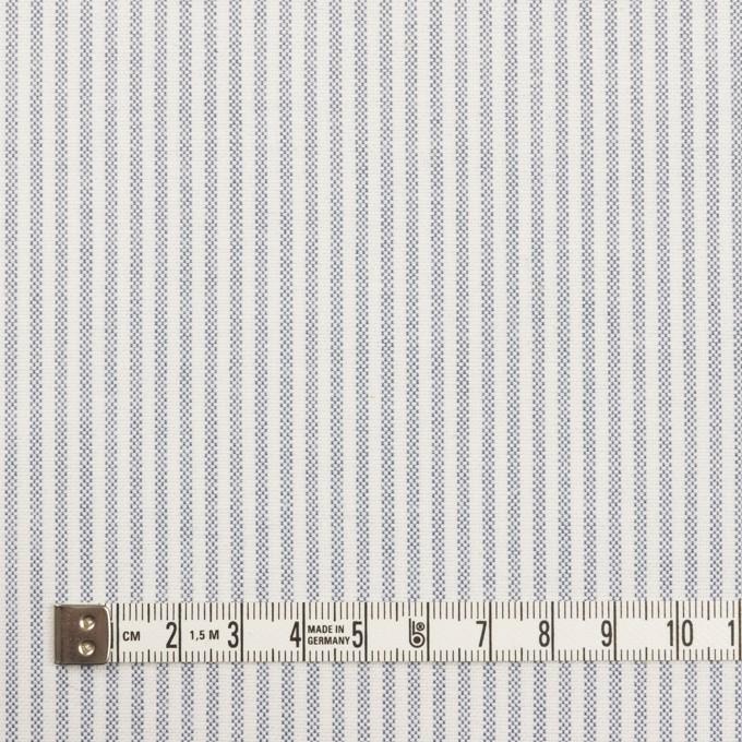 コットン×ストライプ(ブルー)×オックスフォード_全3色 イメージ4