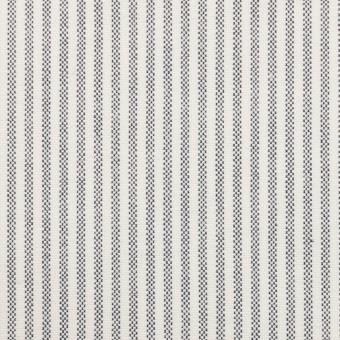 コットン×ストライプ(ネイビー)×オックスフォード_全3色