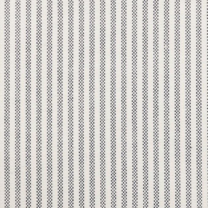 コットン×ストライプ(ネイビー)×オックスフォード_全3色 イメージ1