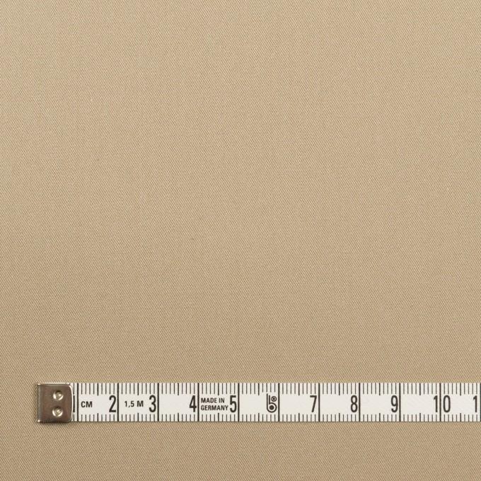 コットン×無地(カーキベージュ)×シャンブレー・ギャバジン イメージ4