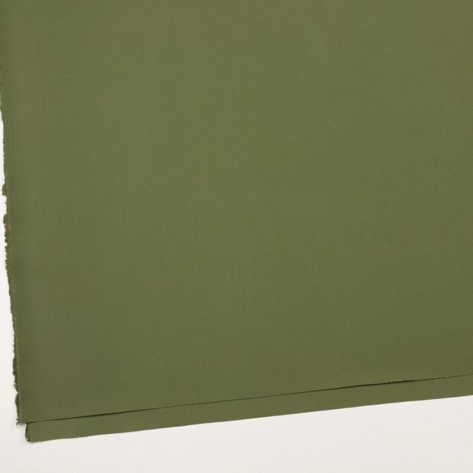 コットン×無地(カーキグリーン)×チノクロス イメージ2