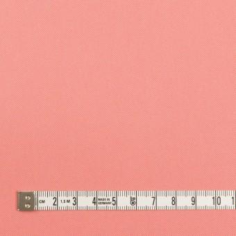 コットン×無地(コーラルピンク)×サージ_全7色_イタリア製 サムネイル4