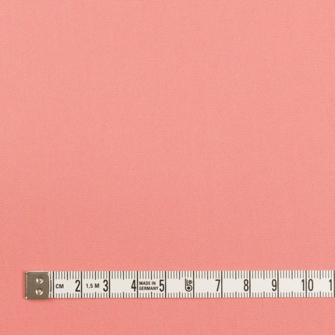 コットン×無地(コーラルピンク)×サージ_全7色_イタリア製 イメージ4