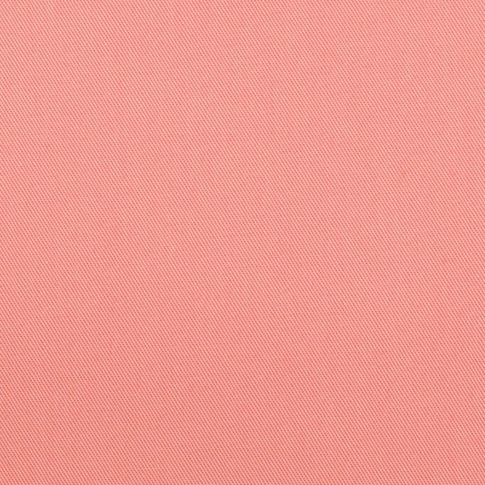コットン×無地(コーラルピンク)×サージ_全7色_イタリア製 イメージ1