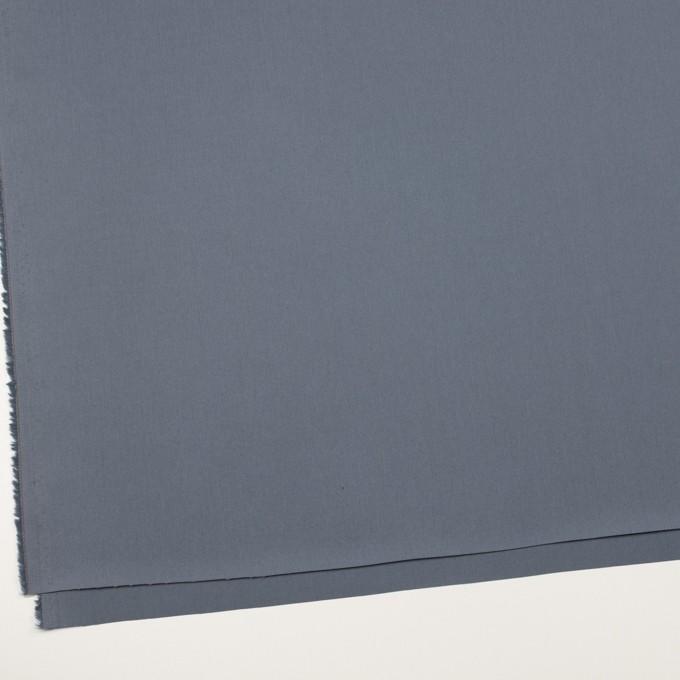 コットン×無地(ウィンターブルー)×サージ_全7色_イタリア製 イメージ2