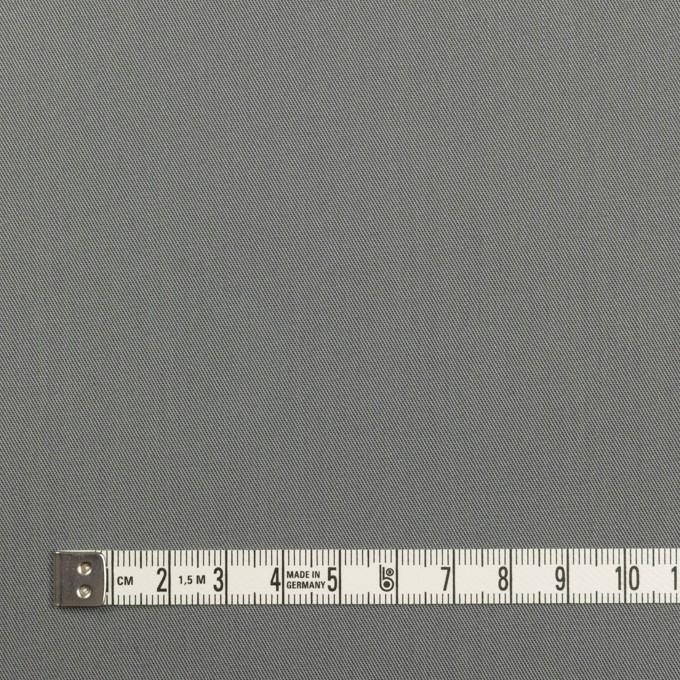 コットン×無地(スチールグレー)×サージ_全7色_イタリア製 イメージ4