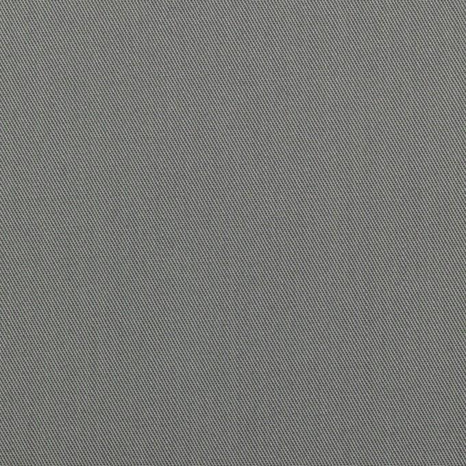 コットン×無地(スチールグレー)×サージ_全7色_イタリア製 イメージ1
