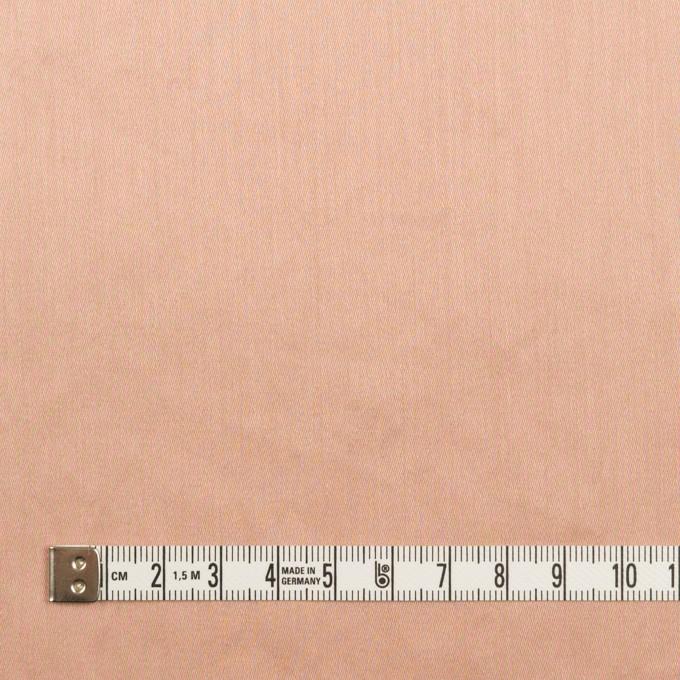 コットン×無地(サーモンピンク)×サテンワッシャー_全14色 イメージ4