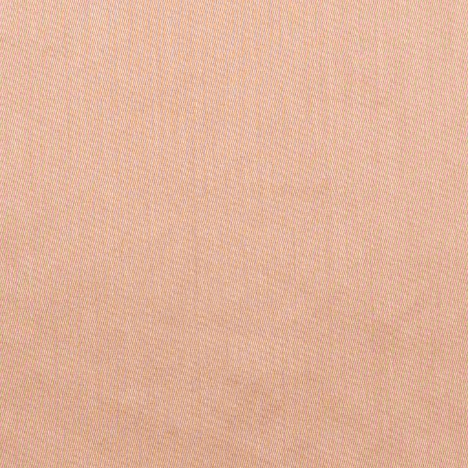 コットン×無地(サーモンピンク)×サテンワッシャー_全14色 イメージ1