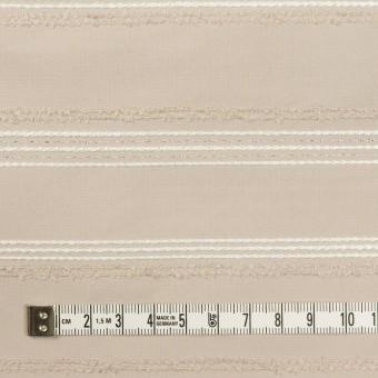 ポリエステル&レーヨン混×ボーダー(シルバーピンク)×形状記憶タフタジャガード サムネイル4