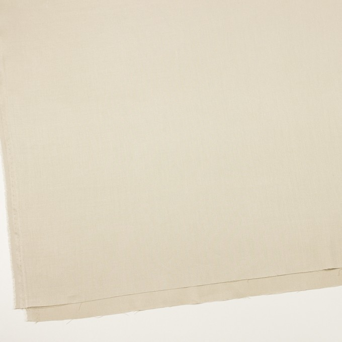 リネン&レーヨン混×無地(グレイッシュベージュ)×サージストレッチ_全4色 イメージ2