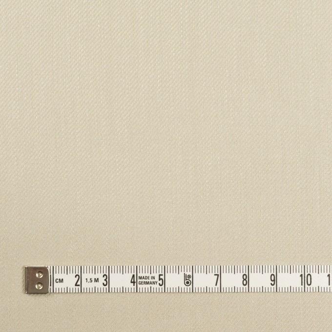 リネン&レーヨン混×無地(グレイッシュベージュ)×サージストレッチ_全4色 イメージ4