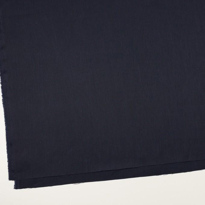 リネン&レーヨン混×無地(ネイビー)×サージストレッチ_全4色 イメージ2