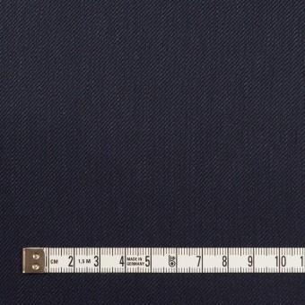 リネン&レーヨン混×無地(ネイビー)×サージストレッチ_全4色 サムネイル4