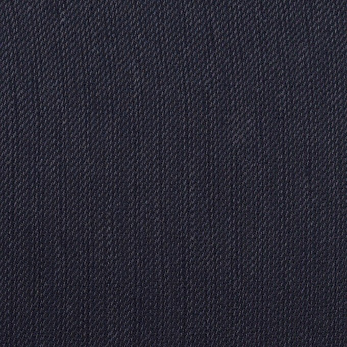 リネン&レーヨン混×無地(ネイビー)×サージストレッチ_全4色 イメージ1