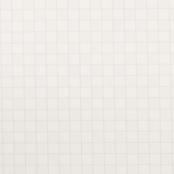 コットン&ポリエステル×チェック(パープル)×ジャガード_全2色 イメージ1